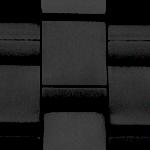 Edelstahl (Schwarz, Einheitsgrösse)